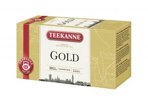 Čaj TEEKANNE Ćierny Gold 20g