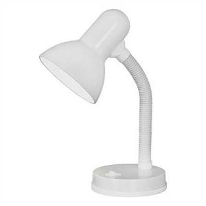 """Stolová lampa, 40 W, """"Basic"""", biela"""