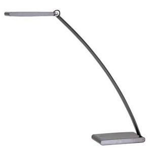 """Stolová lampa, LED, 6 W, ALBA """"Ledtouch, čierna"""