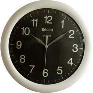 Nástenné hodiny Secco TS 6046 30 cm čierne