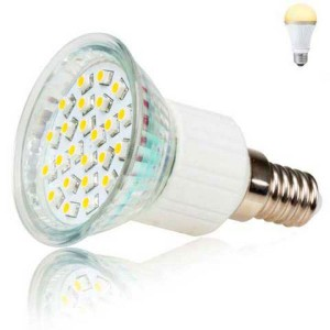LED žiarovka Inoxled E14, 230V, 2W, 150lm, teplá biela, 60000h, ECO