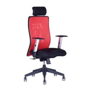 Kancelárske kreslo CALYPSO Grand SP1 červené