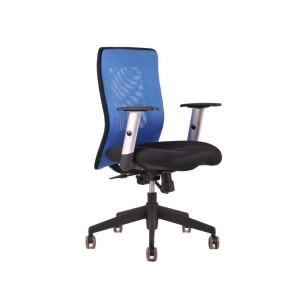 Kancelárske kreslo CALYPSO modro/čierna