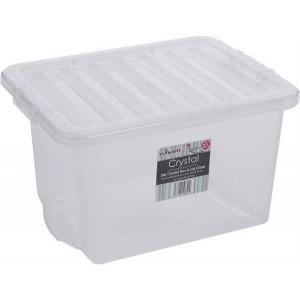 BOX s vekom 24L biely WHAM