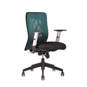 Kancelárske kreslo CALYPSO zelená/čierna - NEDOSTUPNÉ