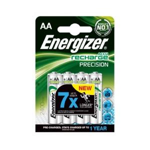 Batérie Energizer dobíjateľné AA 2300 mAh tužkové/4ks