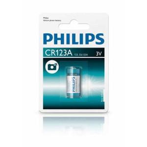 Batéria Philips ExtremeLife CR123A 3V Foto  ph123A