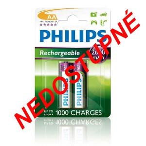 Batéria Philips AA (R6) 1,2 V/2600 mAh NiMH / 2 ks NEDOSTUPNÉ