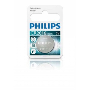 Batéria Philips LITHIUM CR2016 3 V  ph2016