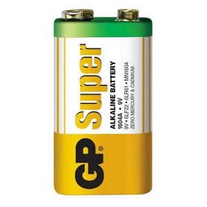 Batéria GP alkalická 9V blok 6LF22 (1604) fólia