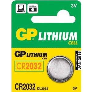 Batéria GP CR2032 3V lithium gombíková