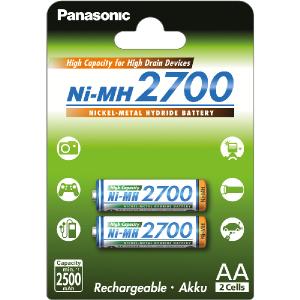 Batéria PANASONIC HR6 AA 3HGAE/2BE HICAP 2700 nabíjacia