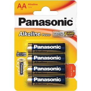 Batéria PANASONIC LR6 4BP AA Alk Power alk