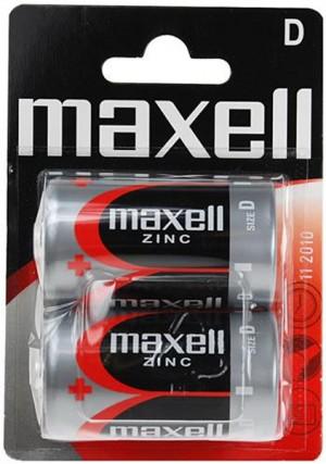 Batérie Maxell Zinc R20 (D) - 2ks