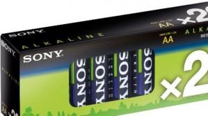 Batérie SONY AM3M20X alkalické, LR6/AA, Stamina Plus - 20ks