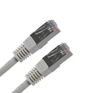 FTP kábel, Cat.5, 1 m, tienený  k12592