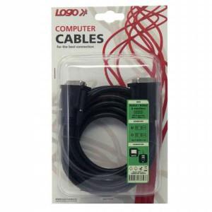 Kábel DVI-D (dual link), 24+1 M/24+1 M, 3 m, tienený