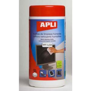 Čistiace utierky APLI Multicleaner TFT/LCD 100ks  ap11302
