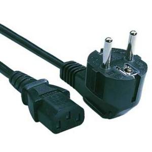 Kábel napájací sieťový, 230V plug/2 m  k65923