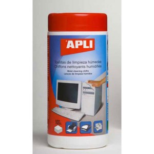 Čistiace utierky APLI Multicleaner 100ks ap11301