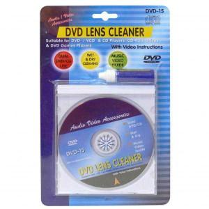 Čistič DVD, čistič šošovky, mokrý proces čistenia, 10 jazykov, No Name - NEDOSTUPNÉ