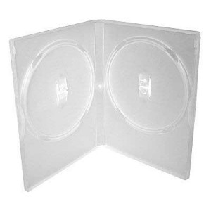 Box na 2 ks DVD, super clear, 14mm