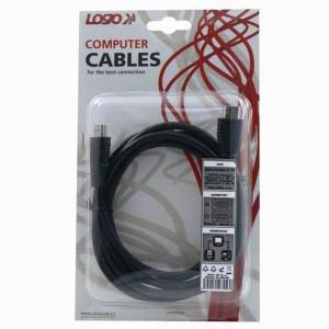 HDMI kábel HDMI M/HDMI M, 2 m, LOGO, High Speed