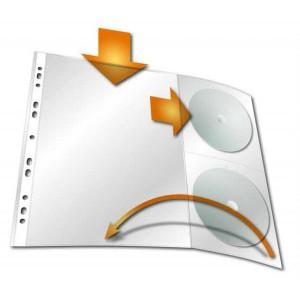Euroobal A4 s vreckami na CD/DVD 120 mic