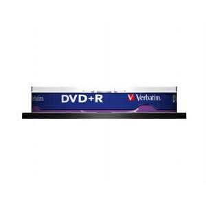 DVD+R Verbatim 4,7GB 16x 10ks cake box  ve43498