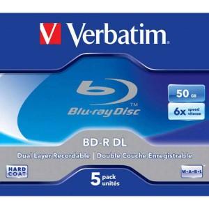 BD-R Verbatim DL 50GB 6x Jewel case