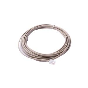 Kábel telefónny, 4 žily, RJ11 M/RJ11 M, 3 m, LOGO