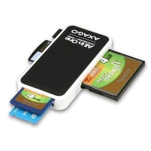 Čítačka kariet AXAGO, All in One, CRE-X1, externá USB 2.0, 5-slot
