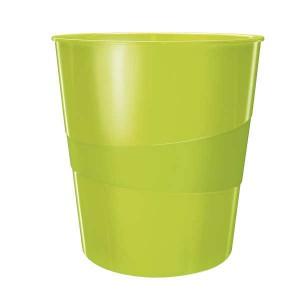 Odpadkový kôš Leitz WOW zelený