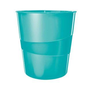 Odpadkový kôš Leitz WOW ľad.modrý
