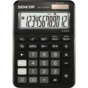 Kalkulačka Sencor SEC 372T/BK čierna