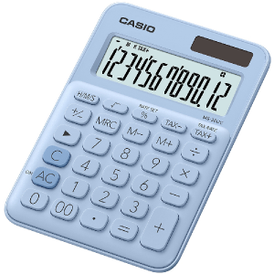 Kalkulačka Casio MS 20 UC LB svetlomodrá