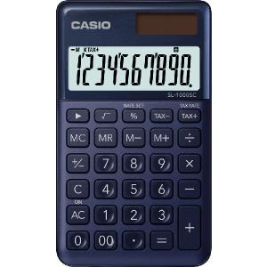 Kalkulačka Casio SL 1000 SC NY modrá