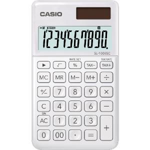 Kalkulačka Casio SL 1000 SC WE biela