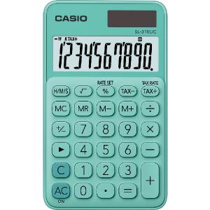 Kalkulačka Casio SL 310 UC  GN zelená
