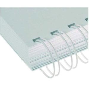 Drôtový hrebeň , 28,5mm, 2,1 23 otvorov, biela