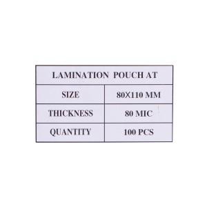 Laminovacie fólie 80x110, 80mic