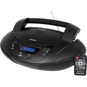Rádio SENCOR s CD/BT/MP3/USB, SPT 4200 FM - čierne