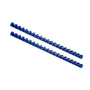 Plastový hrebeň 14mm, modrá  hr1403