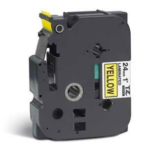 Páska TZ-651 24mm žltá/čierne
