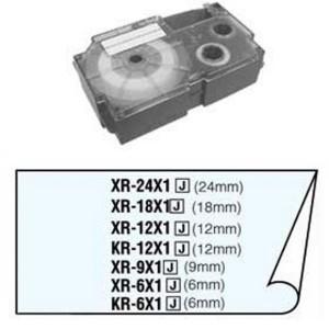 Páska Casio 6mm čierne / priehľadná