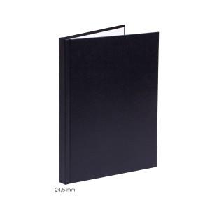 Tvrdá obálka impressBIND 24,5 mm čierna