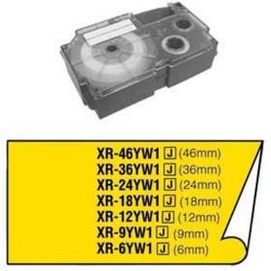 Páska Casio 6mm čierne / žltá
