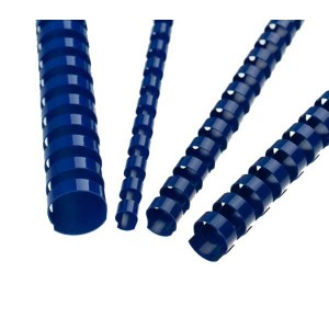 Plastový hrebeň 38mm, modrý