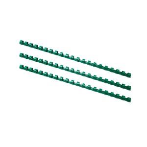 Plastový hrebeň 10 mm zelený