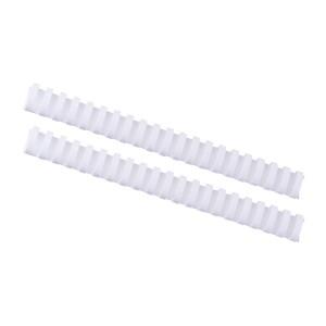 Plastový hrebeň 28mm, biela  hr2800
